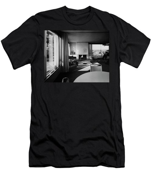 Living Room In Mr. And Mrs. Walter Gropius' House Men's T-Shirt (Athletic Fit)