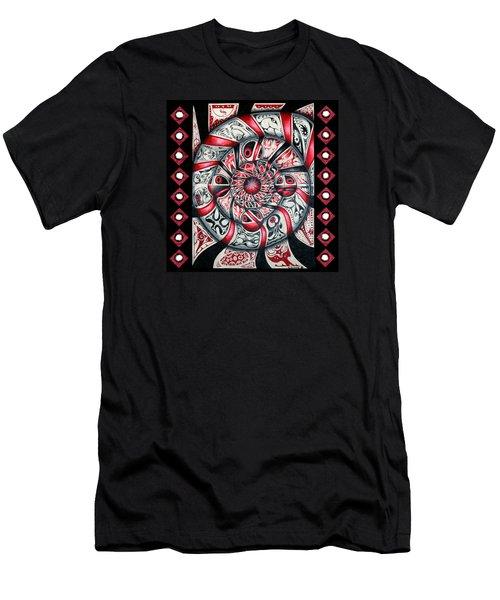 Living Spiral Men's T-Shirt (Athletic Fit)