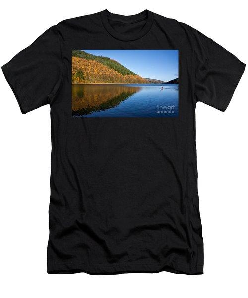 Llyn Geirionydd Men's T-Shirt (Athletic Fit)