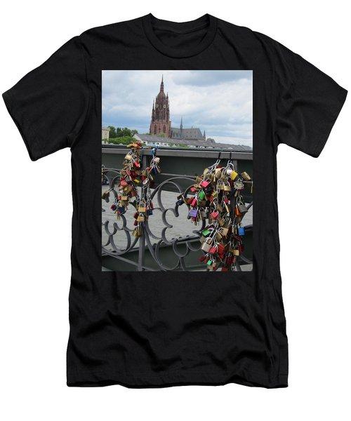 Locks Of Love 2 Men's T-Shirt (Slim Fit) by Pema Hou