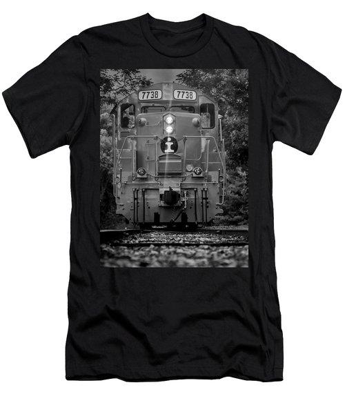 Locomotive 7738 Men's T-Shirt (Athletic Fit)