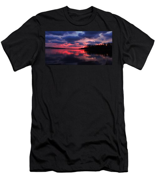 Locust Sunset Men's T-Shirt (Athletic Fit)