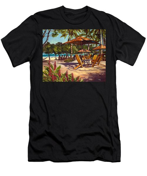 Lola's In Costa Rica Men's T-Shirt (Athletic Fit)