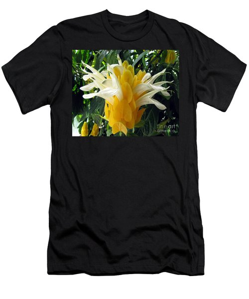 Lolliepop Plant Men's T-Shirt (Slim Fit) by Jennifer Wheatley Wolf