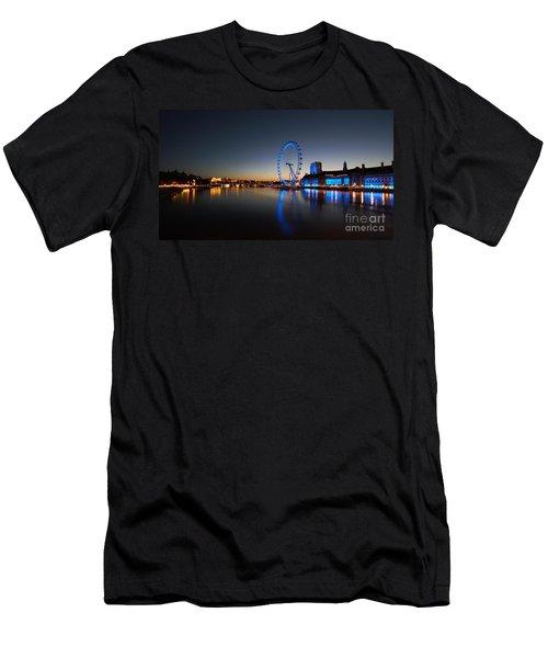 London 1 Men's T-Shirt (Slim Fit) by Mariusz Czajkowski