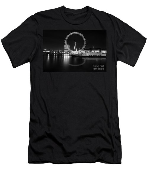 London Eye Mono Men's T-Shirt (Athletic Fit)