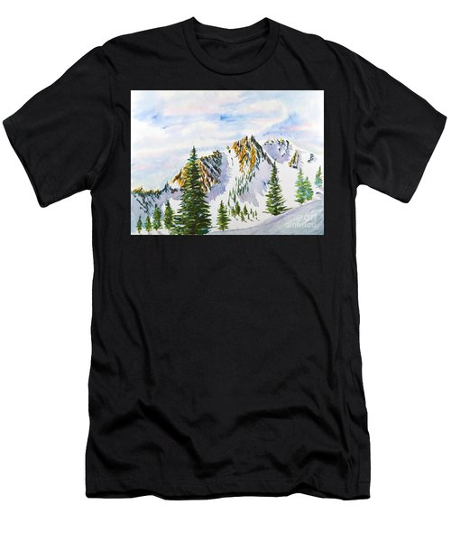Lone Tree In The Morning Men's T-Shirt (Athletic Fit)