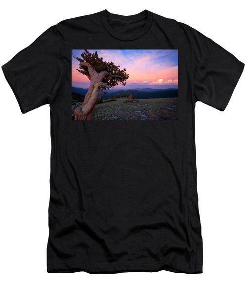 Lonesome Pine Men's T-Shirt (Slim Fit) by Jim Garrison