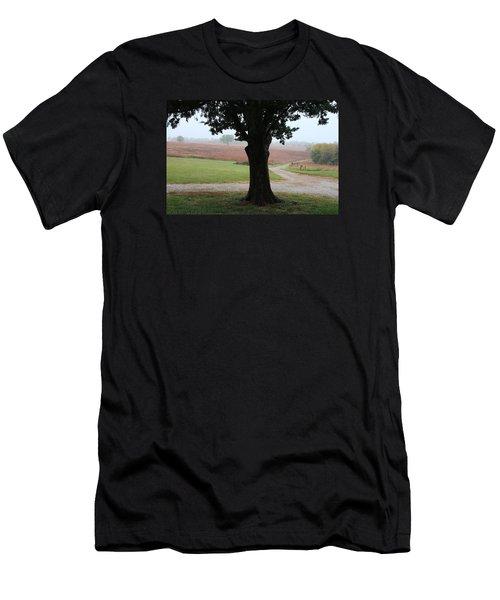 Long Ago And Far Away Men's T-Shirt (Slim Fit) by Elizabeth Sullivan
