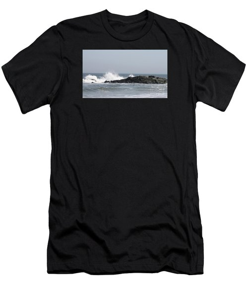 Long Beach Jetty Men's T-Shirt (Athletic Fit)
