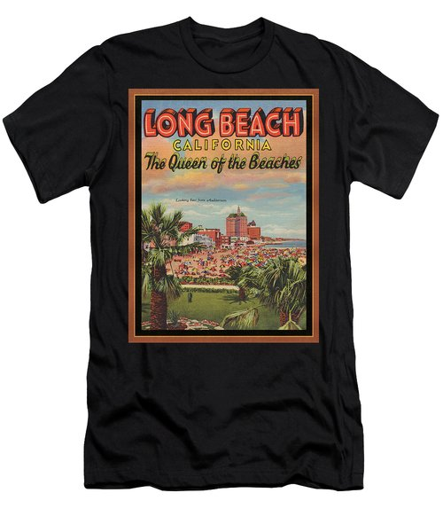 Long Beach Men's T-Shirt (Athletic Fit)