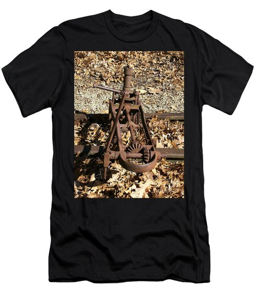 Men's T-Shirt (Slim Fit) featuring the photograph Long Forgotten by Sara  Raber