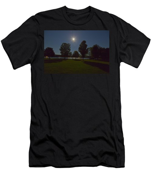 Night Shadows  Men's T-Shirt (Slim Fit) by Richard Engelbrecht