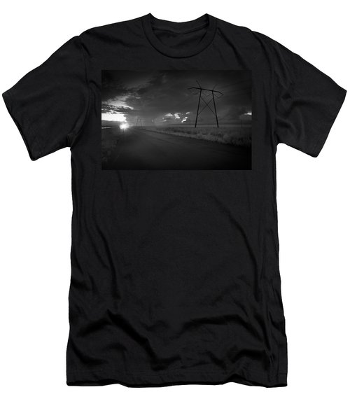 Long Road Home Men's T-Shirt (Slim Fit) by Bradley R Youngberg