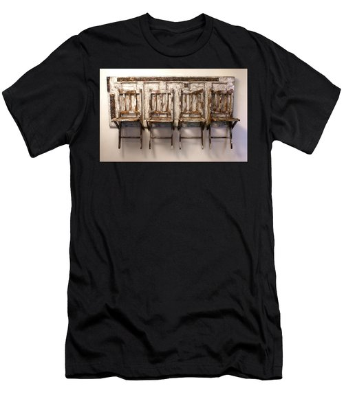 Long Wait By The Door Men's T-Shirt (Athletic Fit)