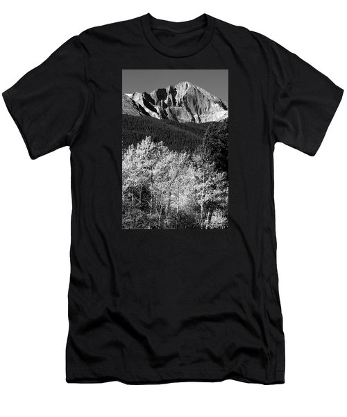 Longs Peak 14256 Ft Men's T-Shirt (Athletic Fit)