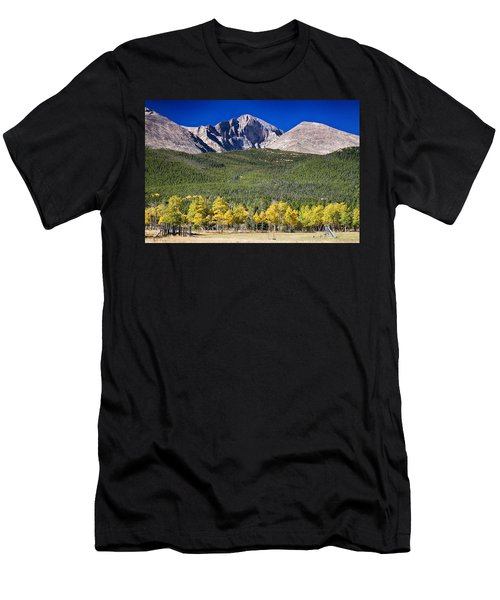 Longs Peak A Colorado Playground Men's T-Shirt (Athletic Fit)