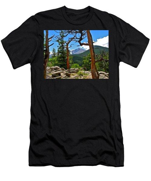 Longs Peak Men's T-Shirt (Athletic Fit)