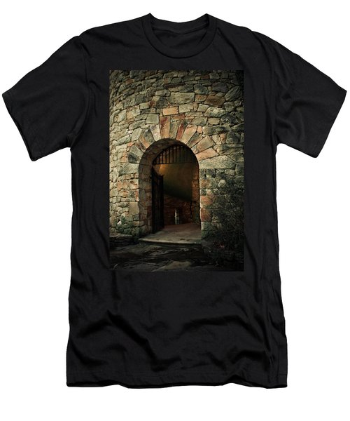Longwood Bell Tower Men's T-Shirt (Athletic Fit)