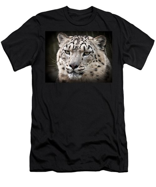 Look Into My Leopard Eyes Men's T-Shirt (Athletic Fit)