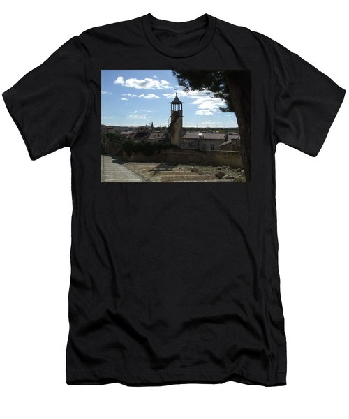 Look Out Tower On The Approach To Beaucaire Castle Men's T-Shirt (Athletic Fit)