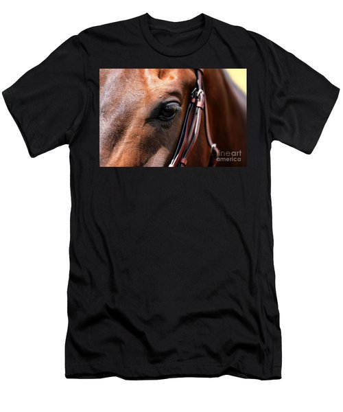 Looking Down Men's T-Shirt (Athletic Fit)