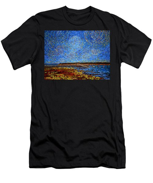 Looking East - St Andrews Wharf 2013 Men's T-Shirt (Athletic Fit)