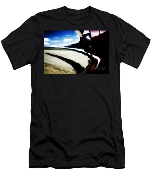 Men's T-Shirt (Athletic Fit) featuring the photograph Looking Forward by Paul Job