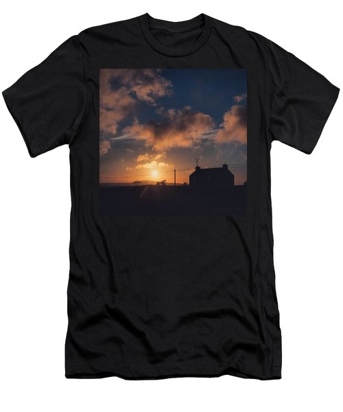 Looking Forward To Being Home... At Men's T-Shirt (Athletic Fit)