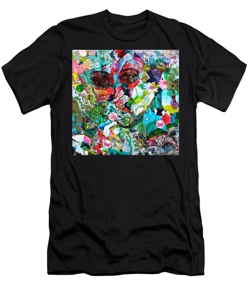 Looking Through Men's T-Shirt (Slim Fit)