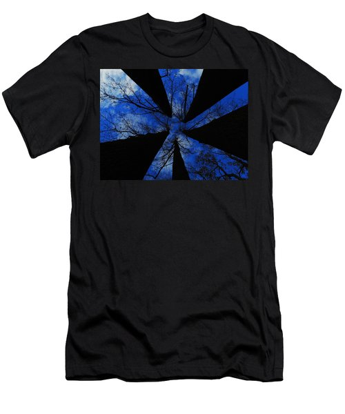 Looking Up Men's T-Shirt (Slim Fit) by Raymond Salani III
