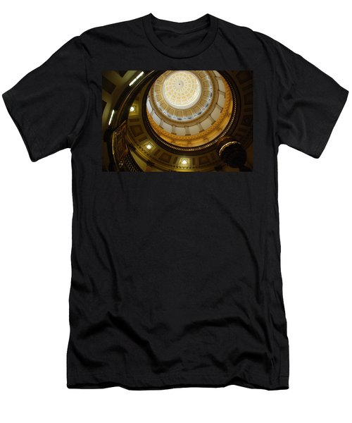 Looking Up The Capitol Dome - Denver Men's T-Shirt (Athletic Fit)