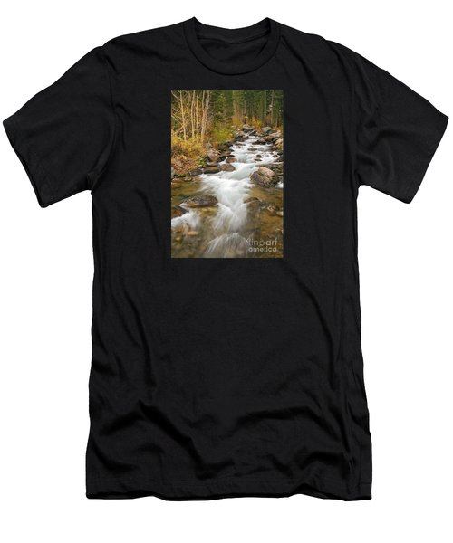 Looking Upstream Men's T-Shirt (Athletic Fit)