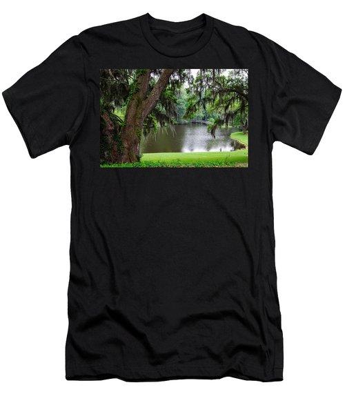 Lost Bridge Men's T-Shirt (Athletic Fit)