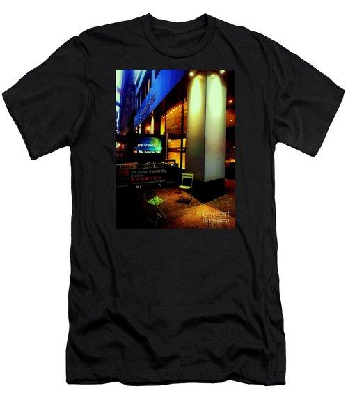 Lost Conversation Men's T-Shirt (Slim Fit) by James Aiken