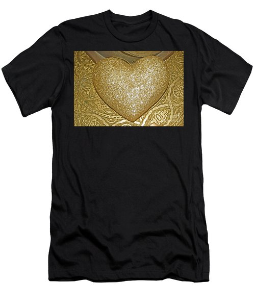 Lost My Golden Heart Men's T-Shirt (Athletic Fit)