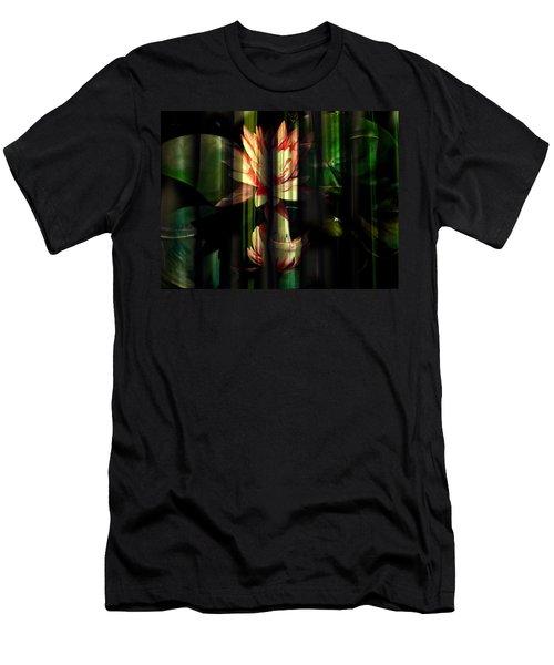 Lotus Bamboo  Men's T-Shirt (Athletic Fit)