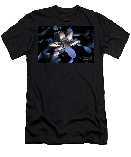 Lotus By Night Men's T-Shirt (Athletic Fit)