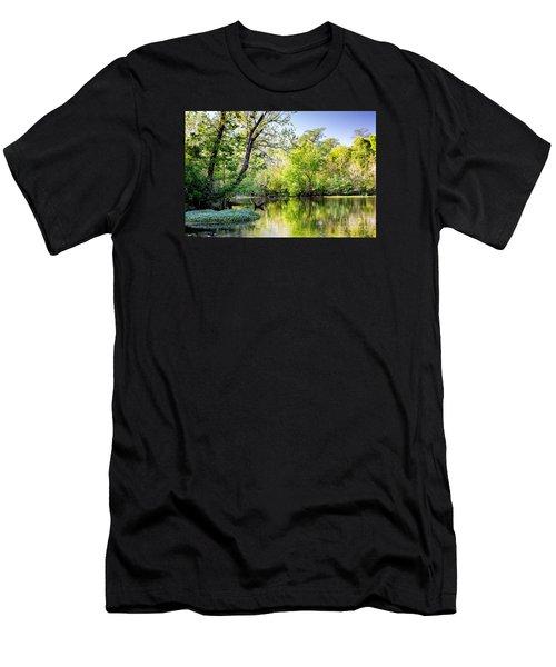 Louisiana Bayou Men's T-Shirt (Athletic Fit)