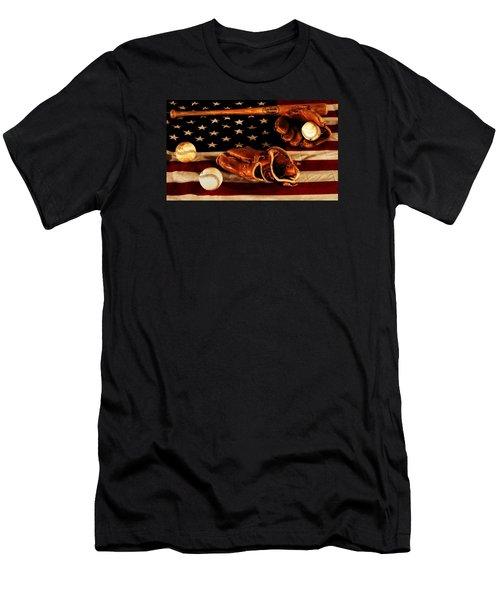 Louisville Slugger Men's T-Shirt (Slim Fit) by Dan Sproul