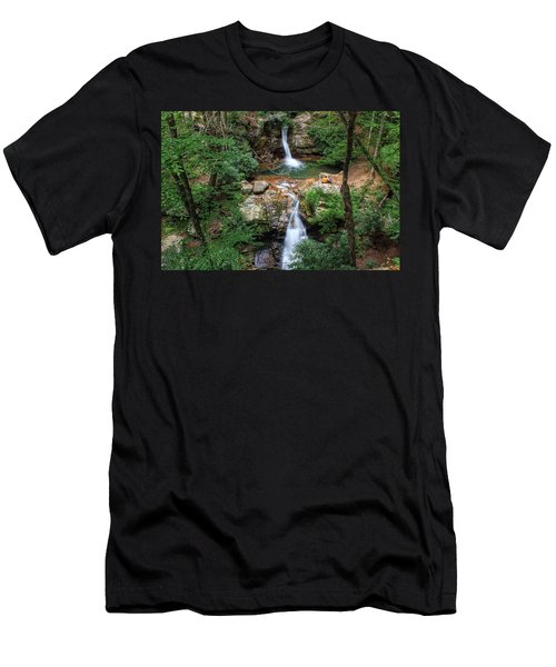 Love At The Blue Hole Men's T-Shirt (Athletic Fit)