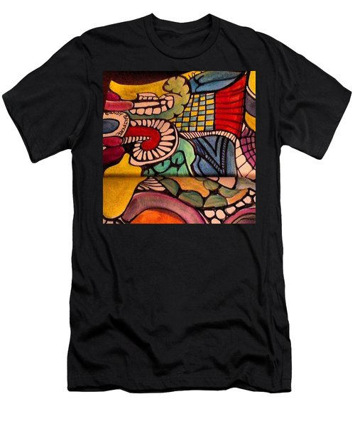 Love Doodling Men's T-Shirt (Athletic Fit)