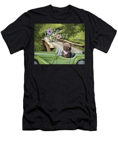 Love Grows Men's T-Shirt (Athletic Fit)