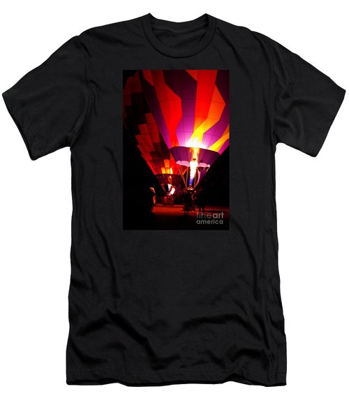 Men's T-Shirt (Athletic Fit) featuring the photograph Love Is In The Air by Nancy Cupp