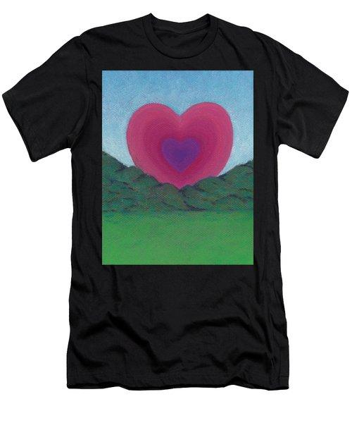 Love Rising Men's T-Shirt (Athletic Fit)