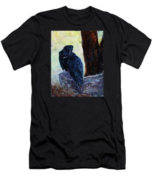 Men's T-Shirt (Slim Fit) featuring the painting Love Season I by Xueling Zou