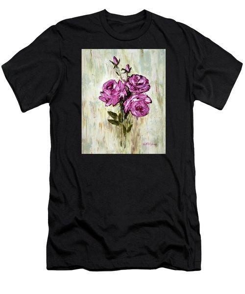 Lovely Roses Men's T-Shirt (Athletic Fit)