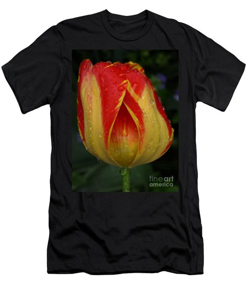 Lovely Tulip Men's T-Shirt (Athletic Fit)