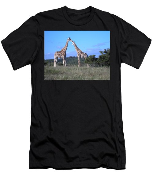 Lovers On Safari Men's T-Shirt (Athletic Fit)