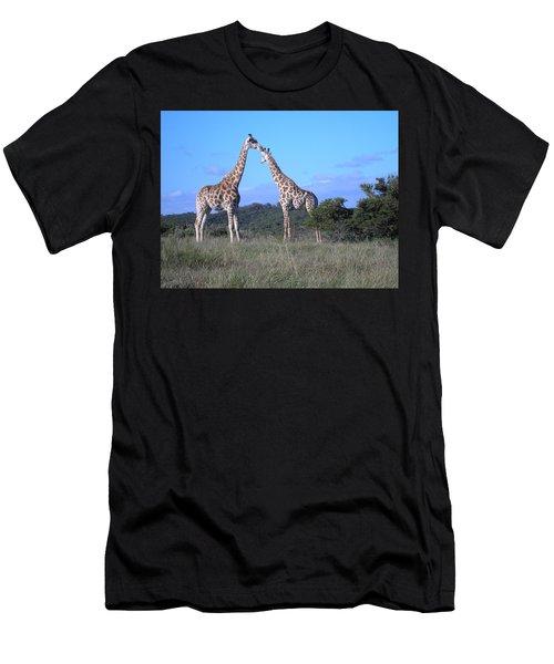 Lovers On Safari Men's T-Shirt (Athletic Fit)